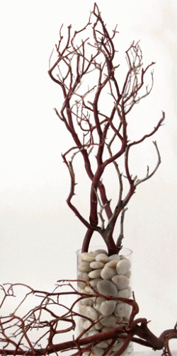 DIY Branches Centerpiece