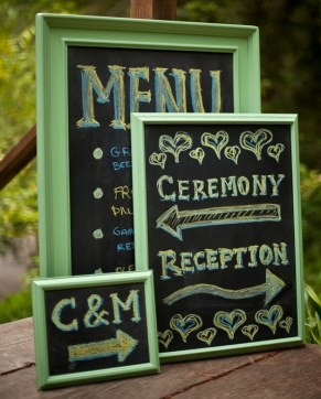 ... to make your own chalk board wonders? Click here for the instructions