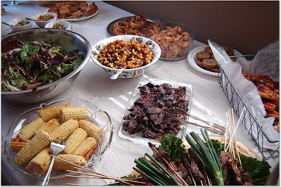 Image result for potluck wedding