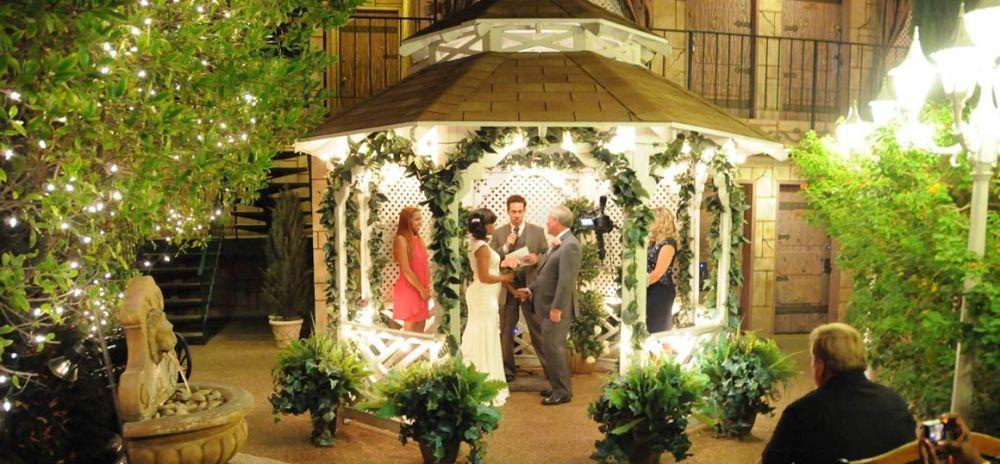 Backyard Gazebo Wedding